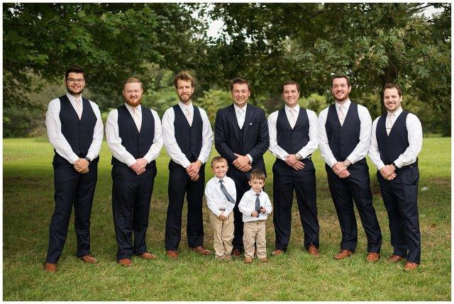 Blush Summer Kilmarnock Outdoor Wedding Virginia Photographers_5911