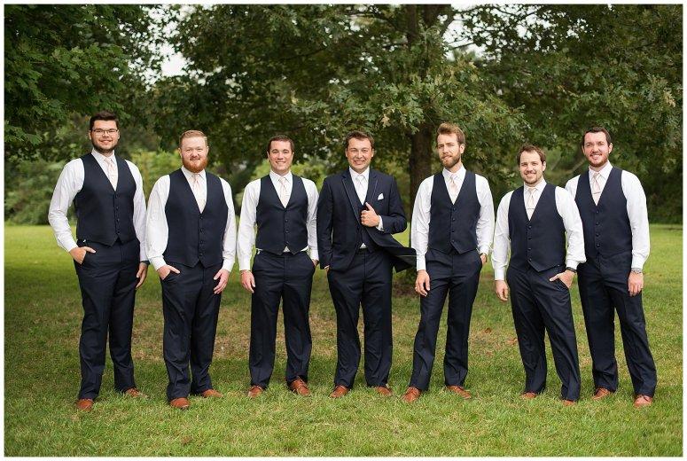 Blush Summer Kilmarnock Outdoor Wedding Virginia Photographers_5913