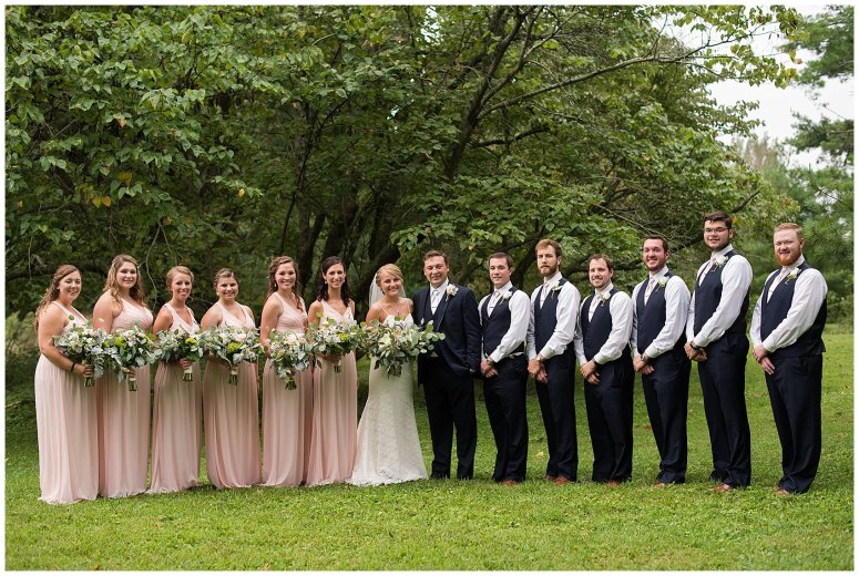 Blush Summer Kilmarnock Outdoor Wedding Virginia Photographers_5941
