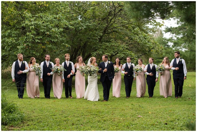 Blush Summer Kilmarnock Outdoor Wedding Virginia Photographers_5942