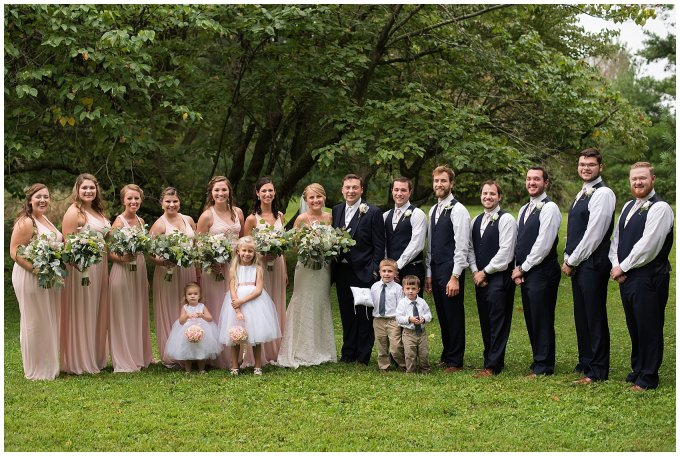 Blush Summer Kilmarnock Outdoor Wedding Virginia Photographers_5943