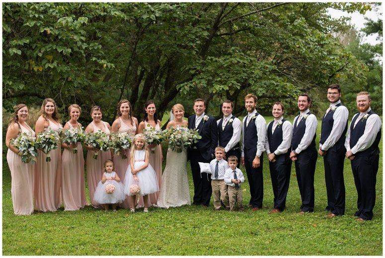 Blush Summer Kilmarnock Outdoor Wedding Virginia Photographers_5943