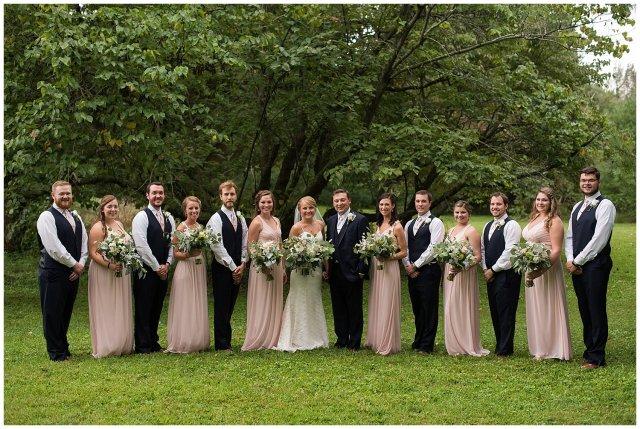 Blush Summer Kilmarnock Outdoor Wedding Virginia Photographers_5944