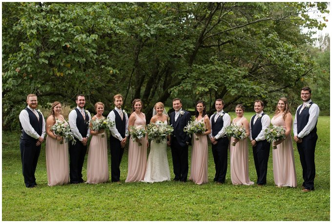 Blush Summer Kilmarnock Outdoor Wedding Virginia Photographers_5944