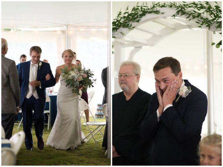 Blush Summer Kilmarnock Outdoor Wedding Virginia Photographers_6018