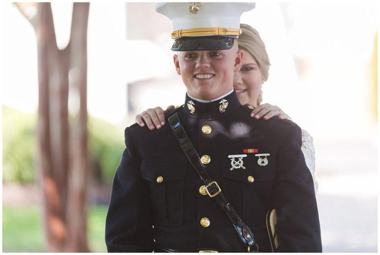 Marine Corps Military Wedding Two Rivers Country Club Williamsburg Virginia Wedding Photographers_6746