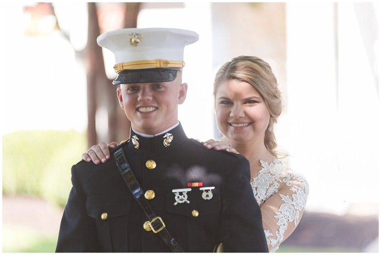 Marine Corps Military Wedding Two Rivers Country Club Williamsburg Virginia Wedding Photographers_6749