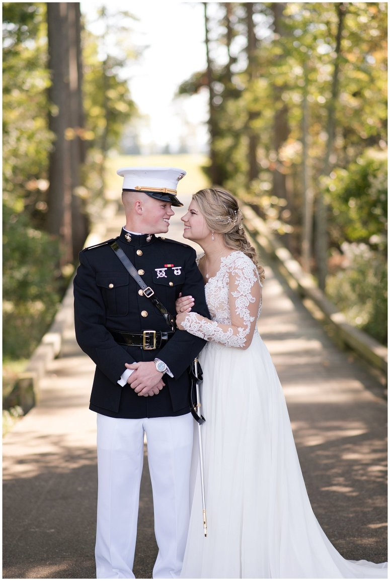 Marine Corps Military Wedding Two Rivers Country Club Williamsburg Virginia Wedding Photographers_6766