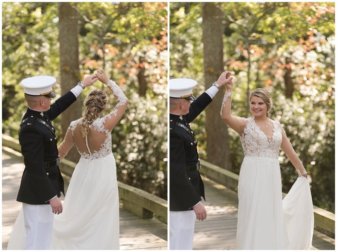 Marine Corps Military Wedding Two Rivers Country Club Williamsburg Virginia Wedding Photographers_6769