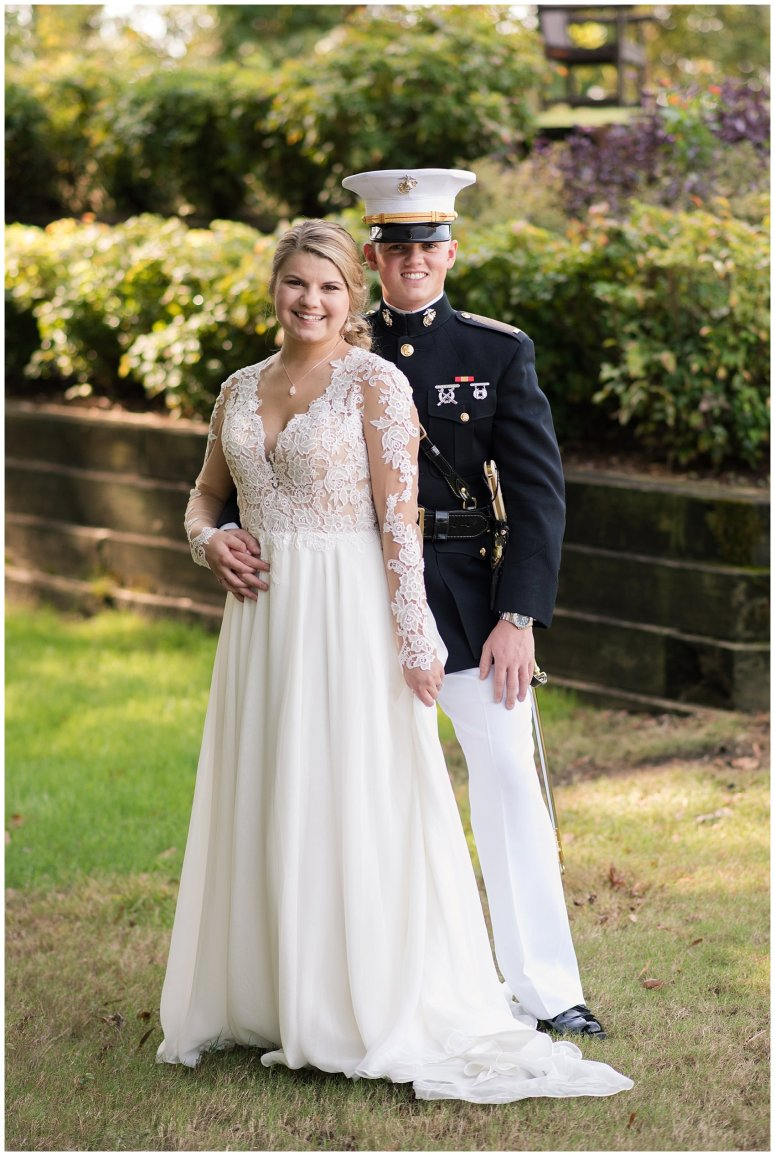 Marine Corps Military Wedding Two Rivers Country Club Williamsburg Virginia Wedding Photographers_6774