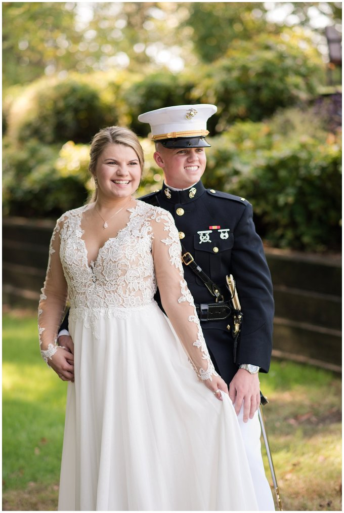 Marine Corps Military Wedding Two Rivers Country Club Williamsburg Virginia Wedding Photographers_6776