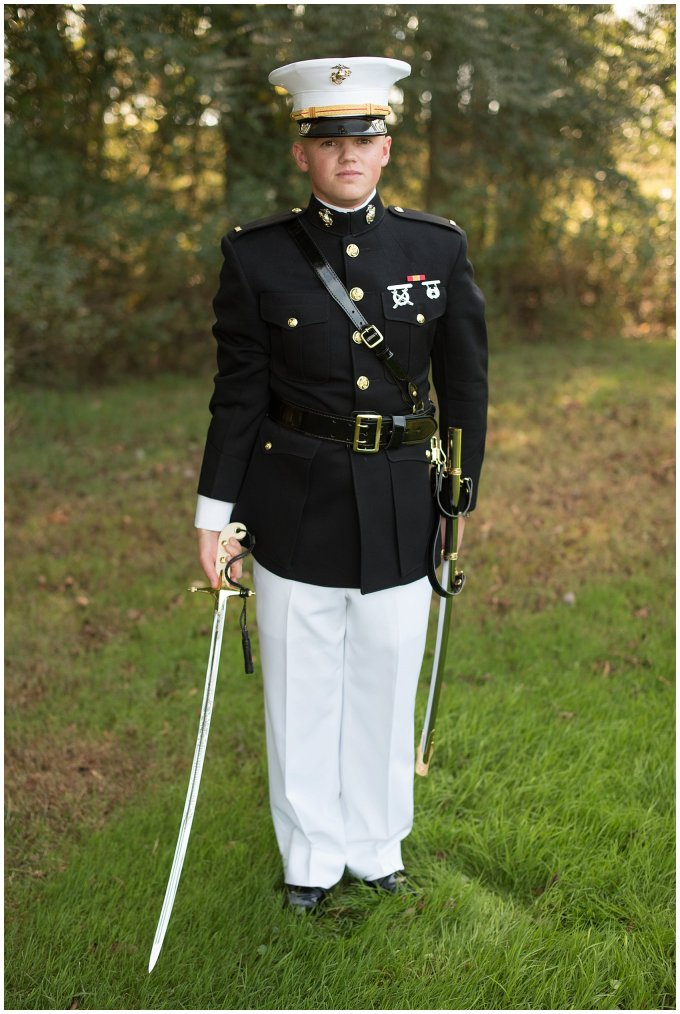 Marine Corps Military Wedding Two Rivers Country Club Williamsburg Virginia Wedding Photographers_6786