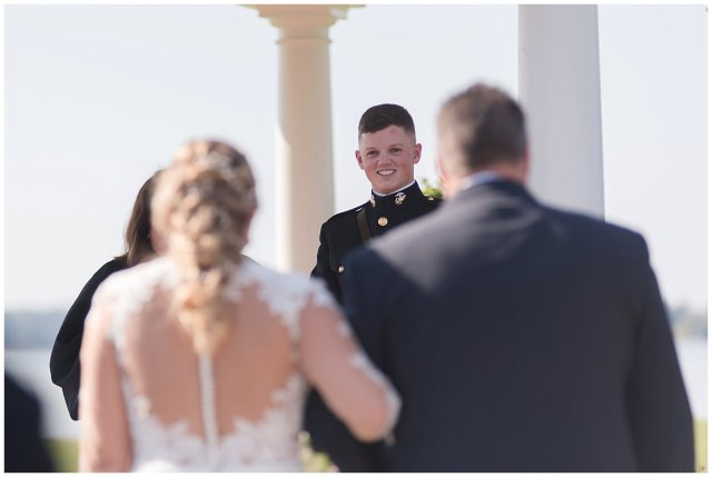 Marine Corps Military Wedding Two Rivers Country Club Williamsburg Virginia Wedding Photographers_6815