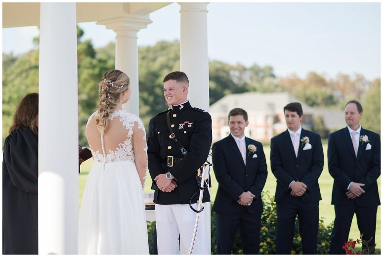 Marine Corps Military Wedding Two Rivers Country Club Williamsburg Virginia Wedding Photographers_6819