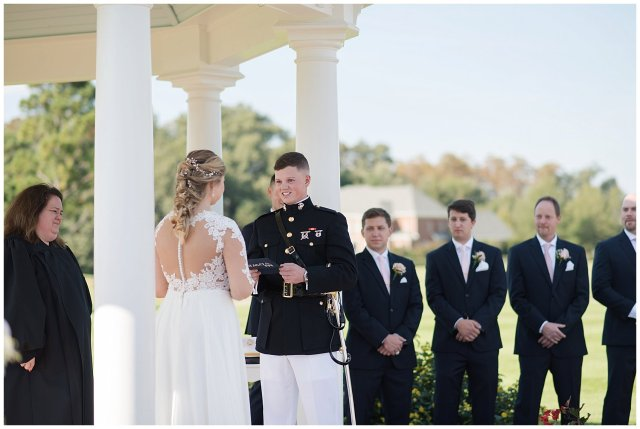 Marine Corps Military Wedding Two Rivers Country Club Williamsburg Virginia Wedding Photographers_6820