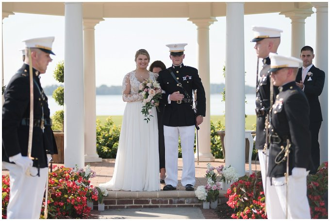 Marine Corps Military Wedding Two Rivers Country Club Williamsburg Virginia Wedding Photographers_6835