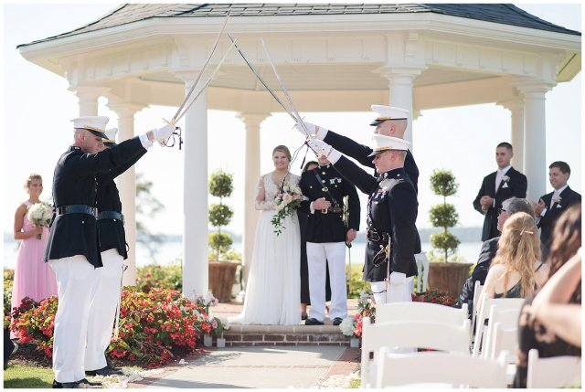 Marine Corps Military Wedding Two Rivers Country Club Williamsburg Virginia Wedding Photographers_6837