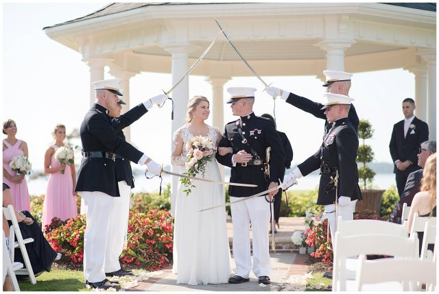 Marine Corps Military Wedding Two Rivers Country Club Williamsburg Virginia Wedding Photographers_6838