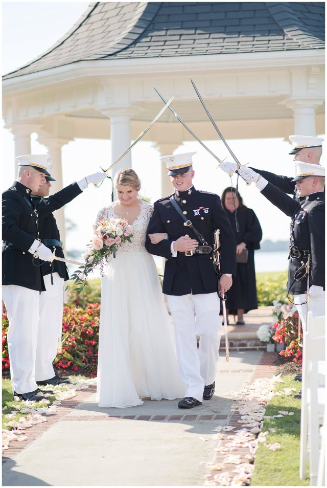 Marine Corps Military Wedding Two Rivers Country Club Williamsburg Virginia Wedding Photographers_6841