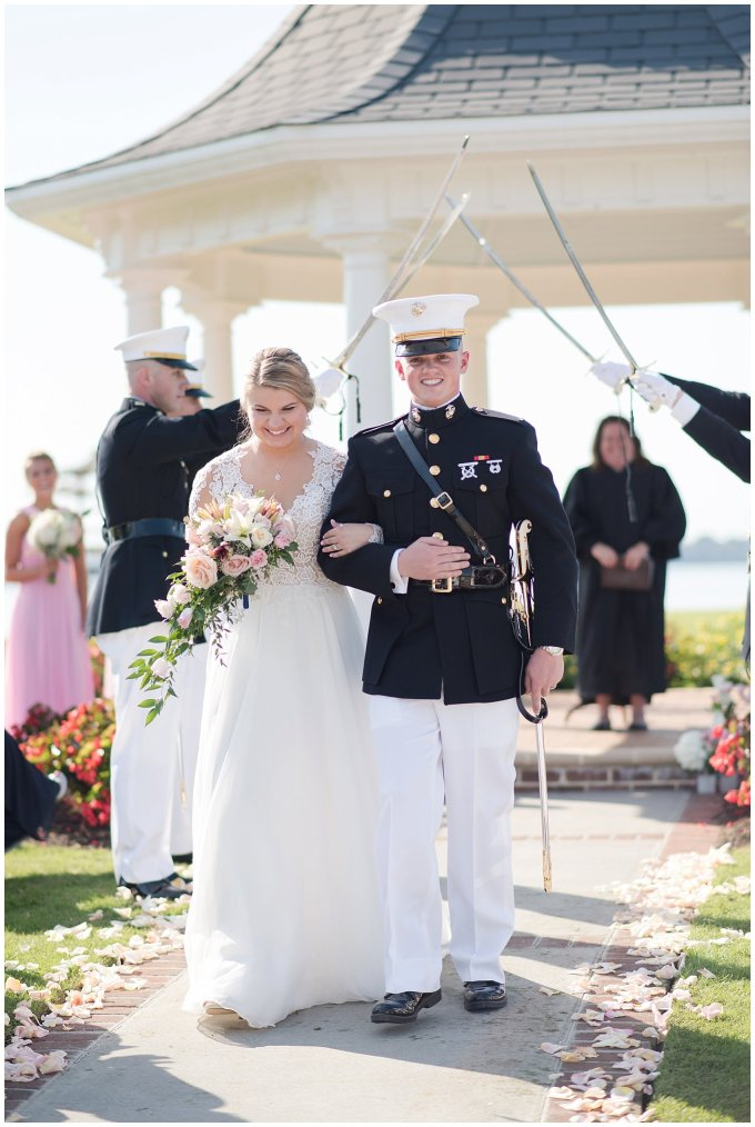 Marine Corps Military Wedding Two Rivers Country Club Williamsburg Virginia Wedding Photographers_6842