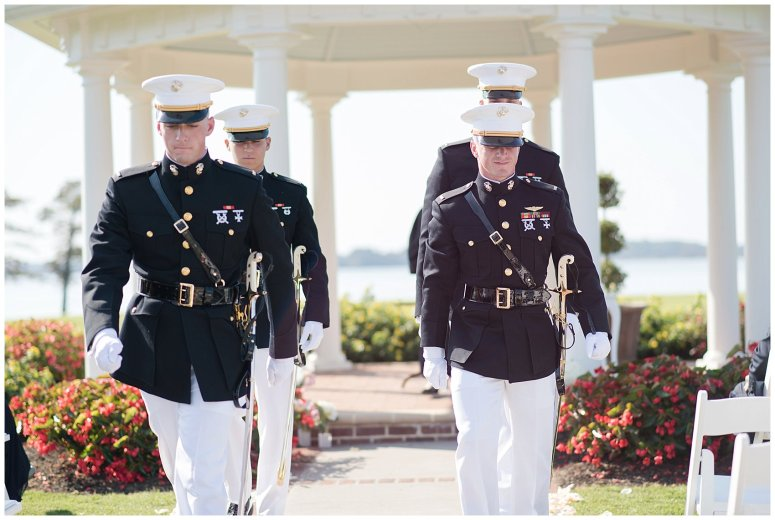 Marine Corps Military Wedding Two Rivers Country Club Williamsburg Virginia Wedding Photographers_6843