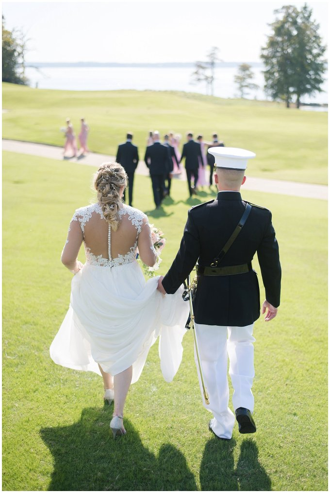Marine Corps Military Wedding Two Rivers Country Club Williamsburg Virginia Wedding Photographers_6844