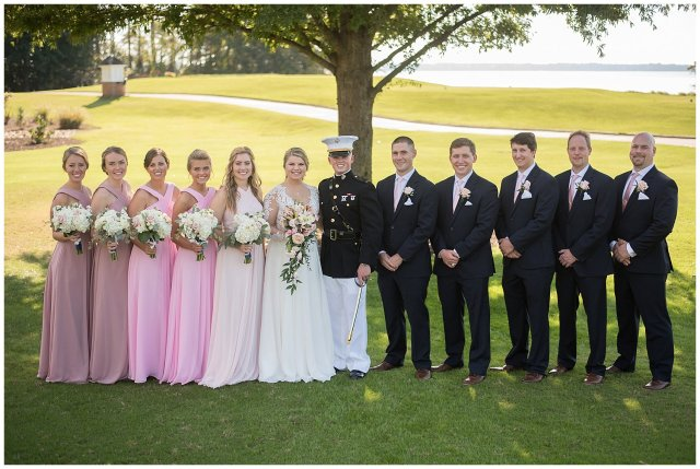 Marine Corps Military Wedding Two Rivers Country Club Williamsburg Virginia Wedding Photographers_6845