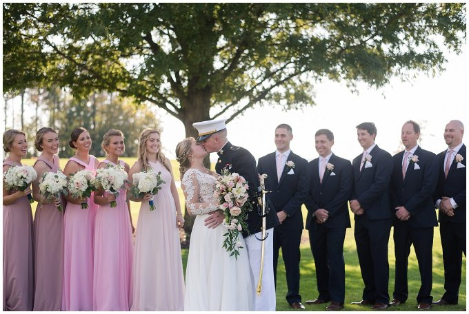 Marine Corps Military Wedding Two Rivers Country Club Williamsburg Virginia Wedding Photographers_6846