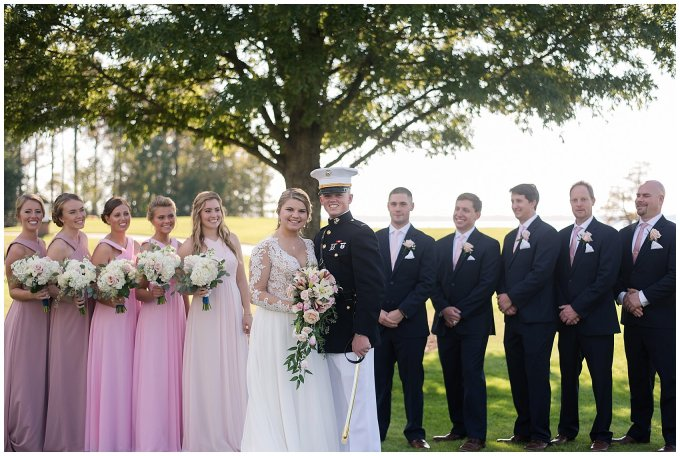 Marine Corps Military Wedding Two Rivers Country Club Williamsburg Virginia Wedding Photographers_6847