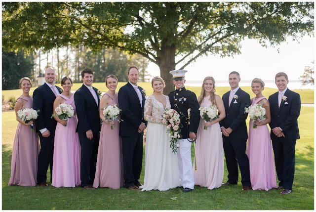 Marine Corps Military Wedding Two Rivers Country Club Williamsburg Virginia Wedding Photographers_6848