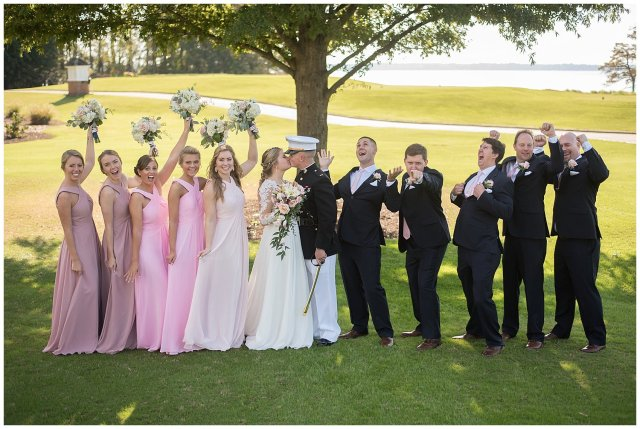 Marine Corps Military Wedding Two Rivers Country Club Williamsburg Virginia Wedding Photographers_6850