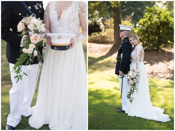 Marine Corps Military Wedding Two Rivers Country Club Williamsburg Virginia Wedding Photographers_6851