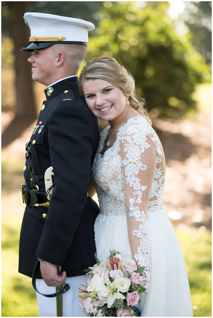 Marine Corps Military Wedding Two Rivers Country Club Williamsburg Virginia Wedding Photographers_6855