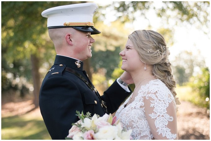 Marine Corps Military Wedding Two Rivers Country Club Williamsburg Virginia Wedding Photographers_6857