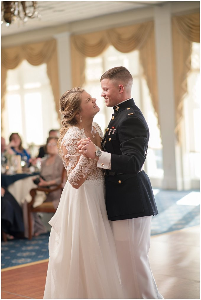 Marine Corps Military Wedding Two Rivers Country Club Williamsburg Virginia Wedding Photographers_6873