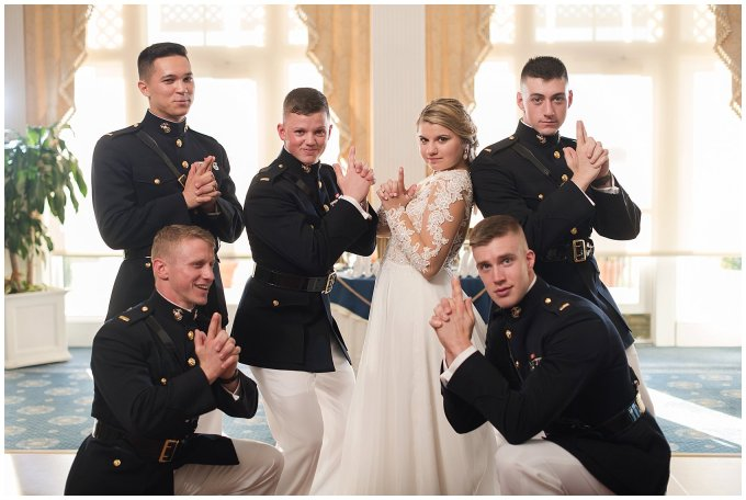 Marine Corps Military Wedding Two Rivers Country Club Williamsburg Virginia Wedding Photographers_6885