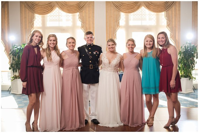 Marine Corps Military Wedding Two Rivers Country Club Williamsburg Virginia Wedding Photographers_6886