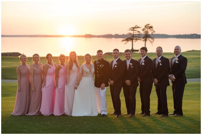Marine Corps Military Wedding Two Rivers Country Club Williamsburg Virginia Wedding Photographers_6896