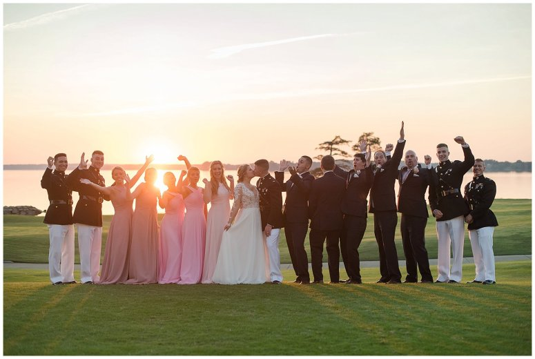 Marine Corps Military Wedding Two Rivers Country Club Williamsburg Virginia Wedding Photographers_6897