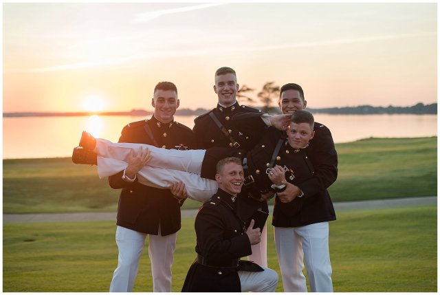Marine Corps Military Wedding Two Rivers Country Club Williamsburg Virginia Wedding Photographers_6898