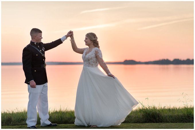Marine Corps Military Wedding Two Rivers Country Club Williamsburg Virginia Wedding Photographers_6903