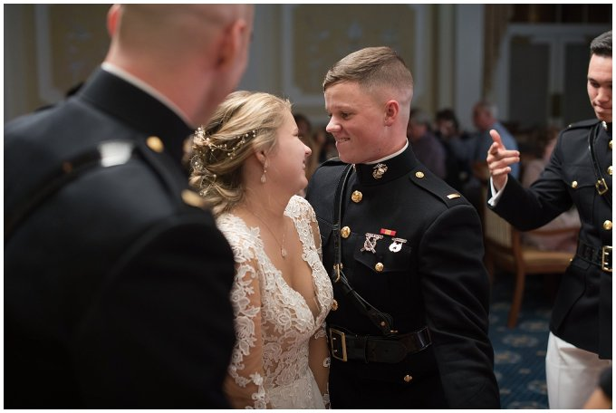 Marine Corps Military Wedding Two Rivers Country Club Williamsburg Virginia Wedding Photographers_6913