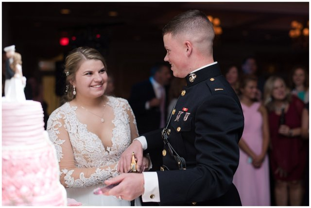 Marine Corps Military Wedding Two Rivers Country Club Williamsburg Virginia Wedding Photographers_6926