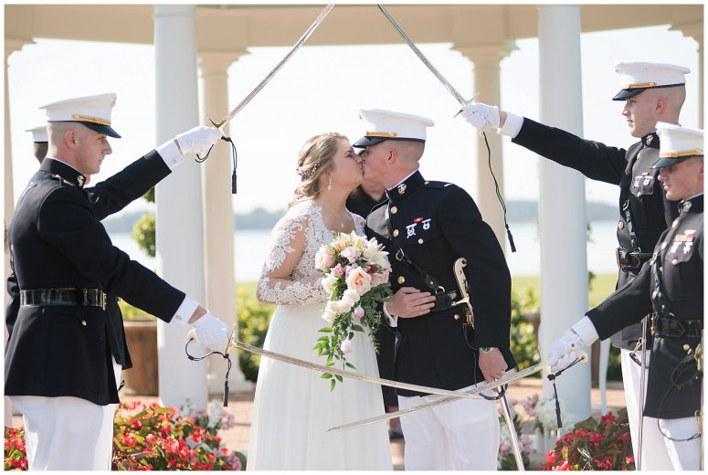 Marine Corps Military Wedding Two Rivers Country Club Williamsburg Virginia Wedding Photographers_6928