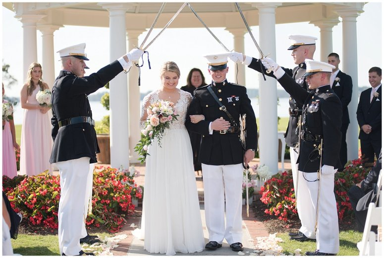 Marine Corps Military Wedding Two Rivers Country Club Williamsburg Virginia Wedding Photographers_6929