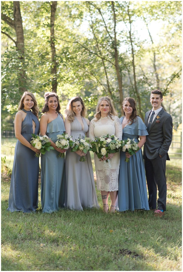 Powder Blue Outdoor September Wedding Springfield Distillery Virginia Wedding Photographers_6355