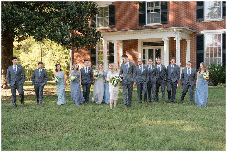 Powder Blue Outdoor September Wedding Springfield Distillery Virginia Wedding Photographers_6357