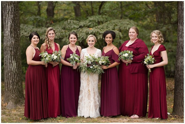 Red Wine Moss Green Fall Autumn Wedding Historic Jasmine Plantation Providence Forge Virginia Wedding Photographers_6506