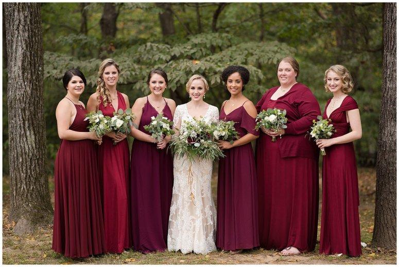 Red Wine Moss Green Fall Autumn Wedding Historic Jasmine Plantation Providence Forge Virginia Wedding Photographers_6506