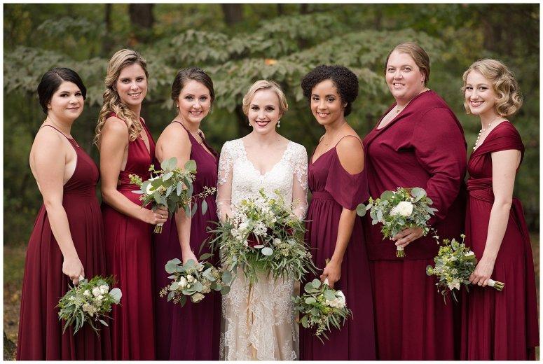 Red Wine Moss Green Fall Autumn Wedding Historic Jasmine Plantation Providence Forge Virginia Wedding Photographers_6507